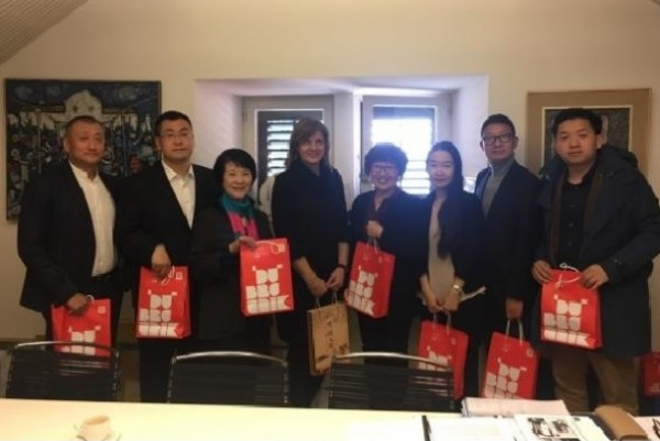 Delegation of the leading Chinese media companies visit the Dubrovnik Tourist Board