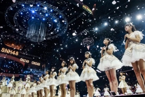 Popular Chinese idol girl group SNH48 made a music video in Croatia