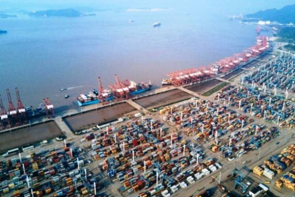 Ningbo-Zhoushan port sees worldwide record throughput