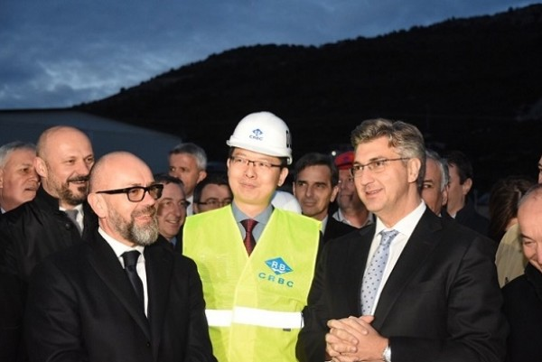 Plenkovic: Construction of Peljesac bridge proceeding faster than planned