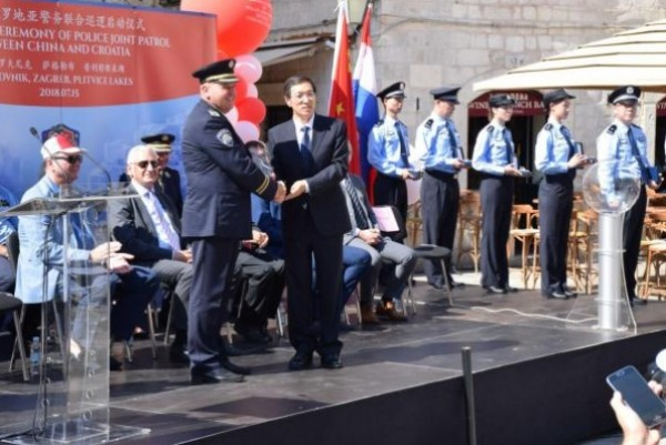 Six Chinese police officers to patrol with Croatian colleagues during peak tourist season