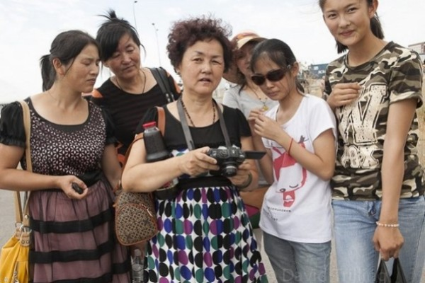 Number of Chinese tourists soars 40%