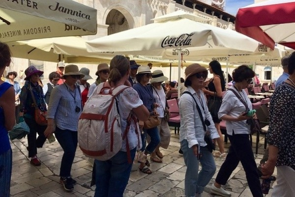 Croatia and Malta are growing in popularity during the golden week break