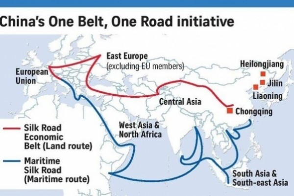 """Belt and Road"" has been dramatically shaping up in 2017"