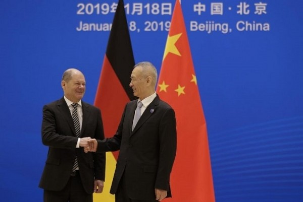 Germany, China agree to open markets, deepen financial cooperation