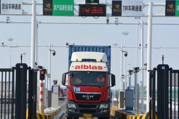 First truck completes Europe-China delivery in twelve days