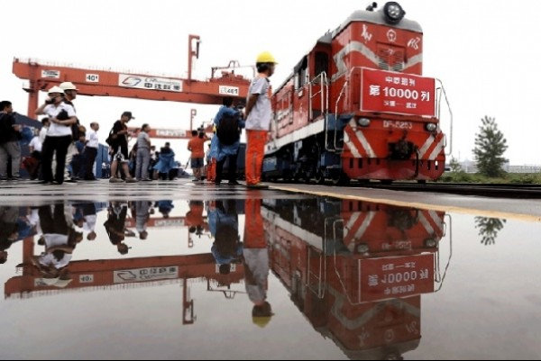 China-Europe Express railway - 10,000 trains since 2011