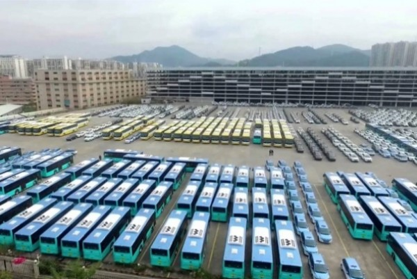 Shenzen makes all buses electric