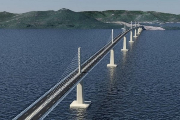 China Road and Bridge Corporation to conduct 1st phase of Peljesac bridge construction