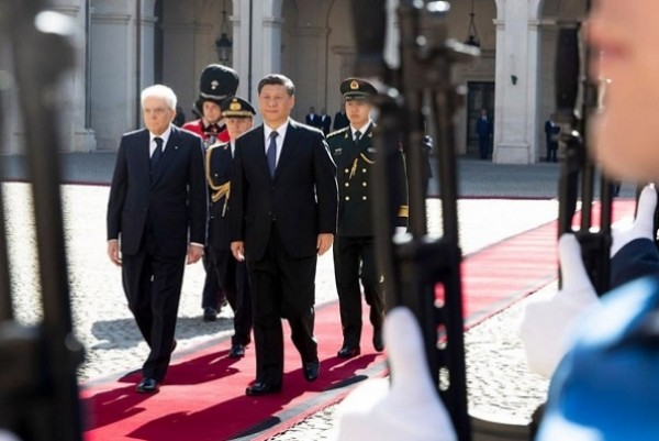 Italy Gives Xi a Royal Welcome