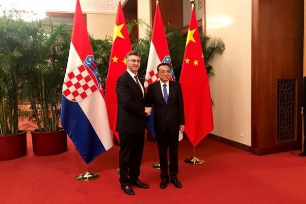 Croatian Prime Minister officially visited China