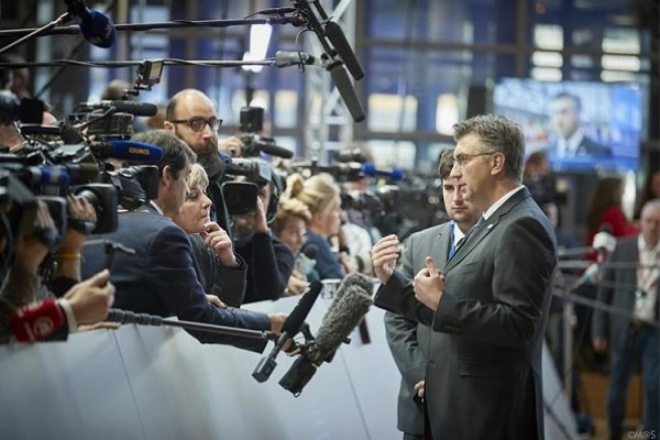 Plenkovic: EU countries have similar positions on ties with China but optics is different