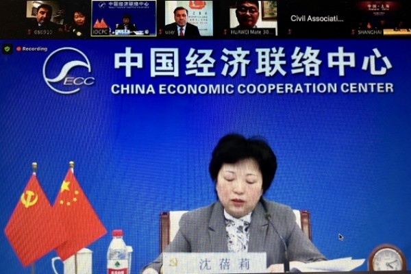 CSEBA at the CHINA-CEE Countries Business Dialogue video conference